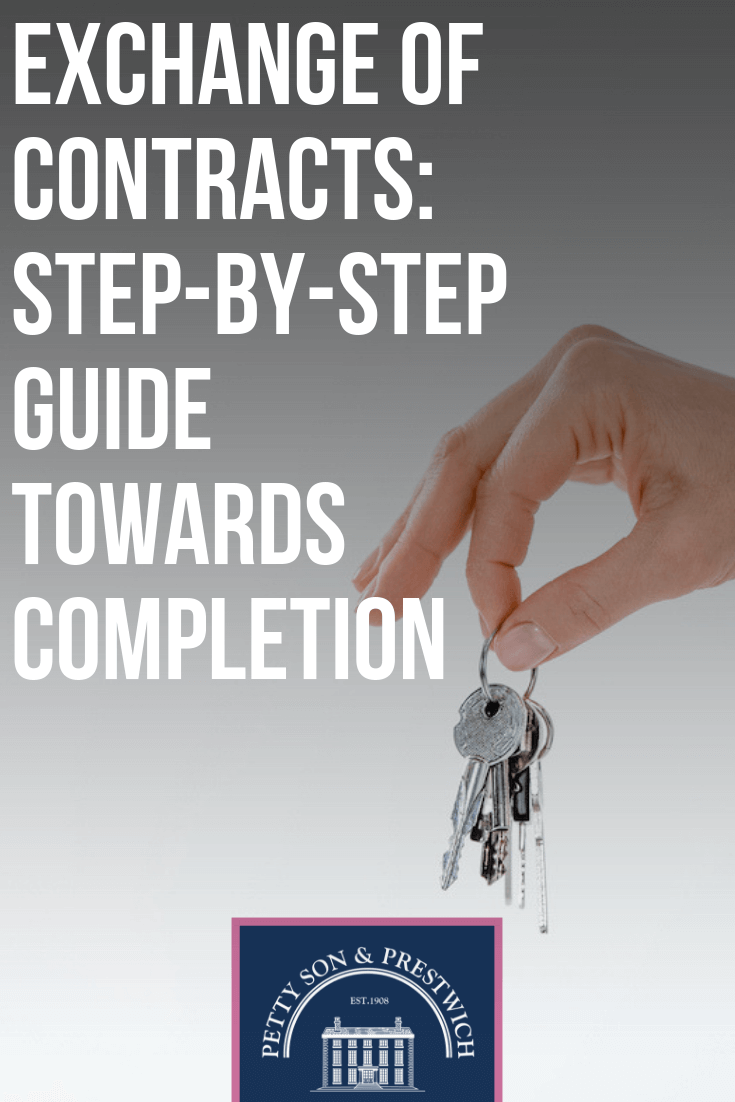 guide to exchanging contracts