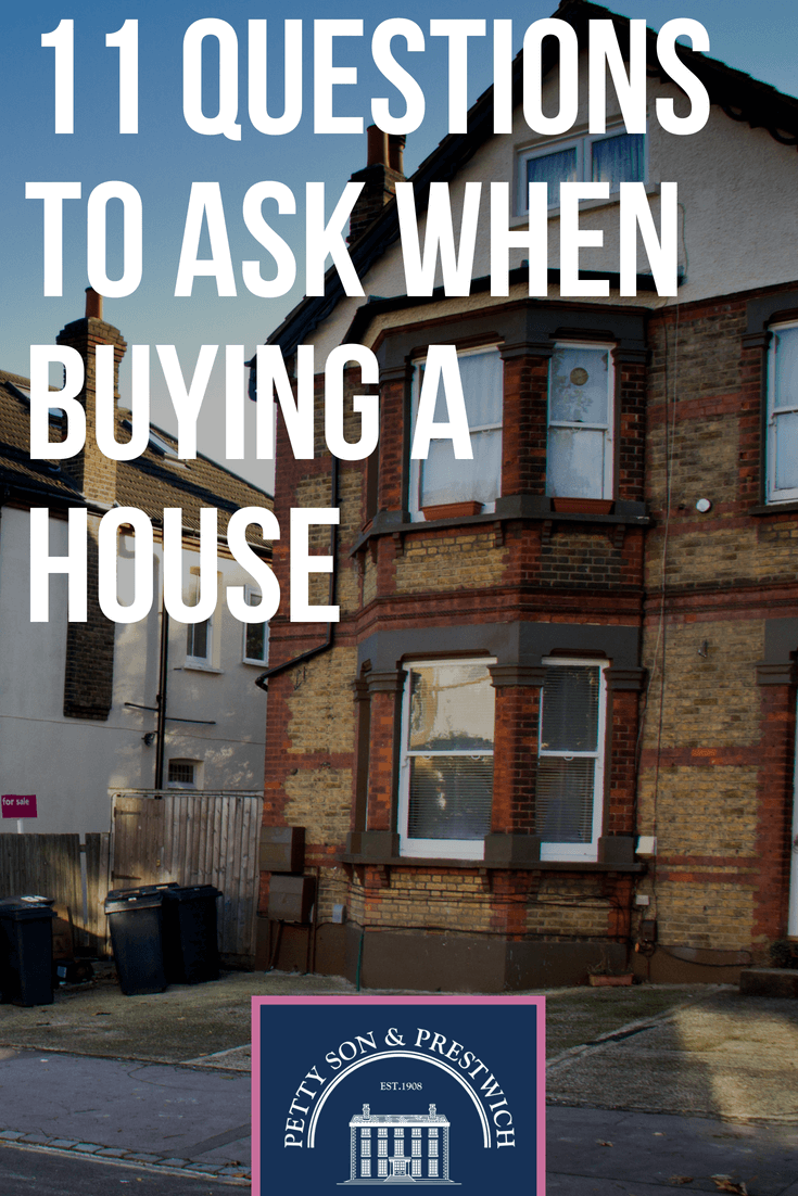 11 questions to ask when buying a house