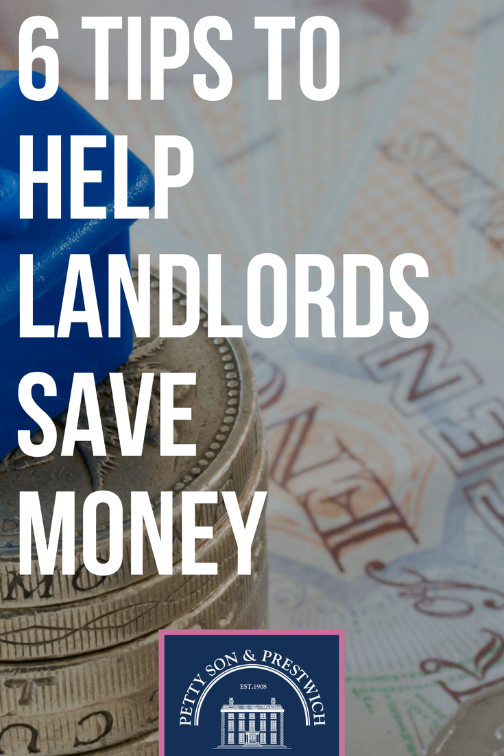 6 tips to help landlords save money