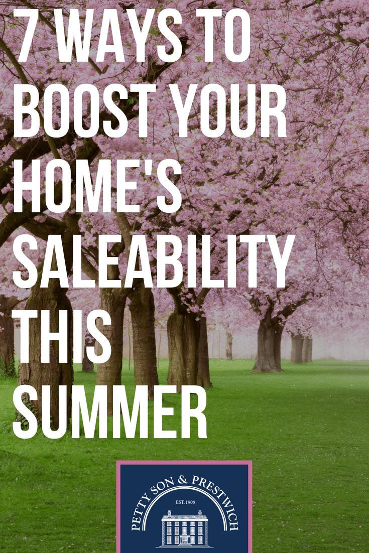 7 ways to boost your homes saleability this summer