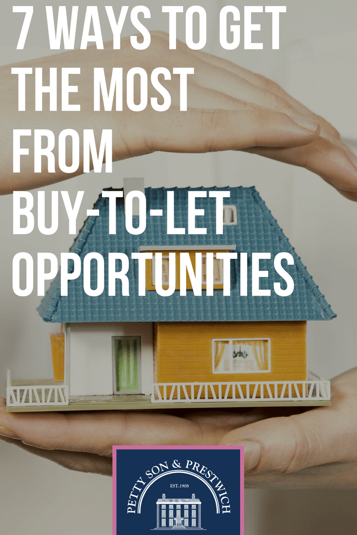 7 ways to get the most from buy to let opportunites