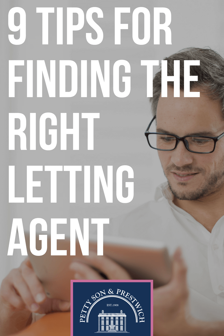 9 tips for finding the right letting agent