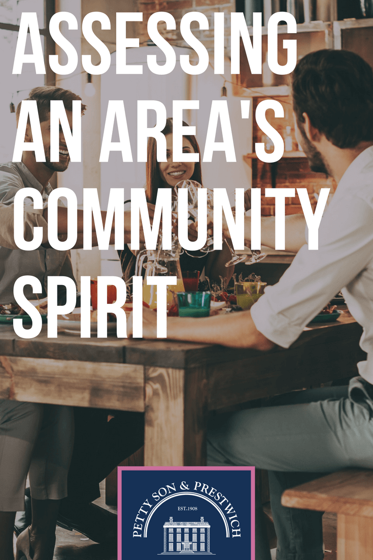 assessing an areas community spirit