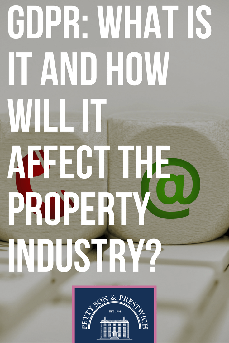gdpr what is it and how will it affect the property industry
