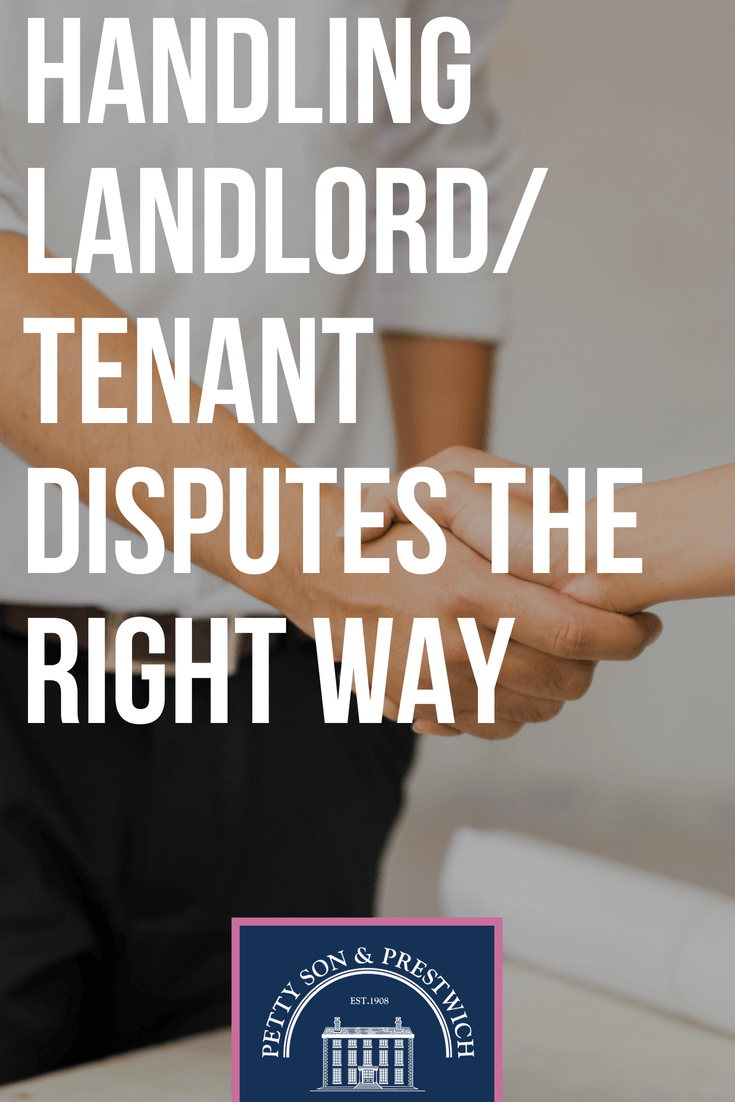 handling landlord tenant disputes the right way