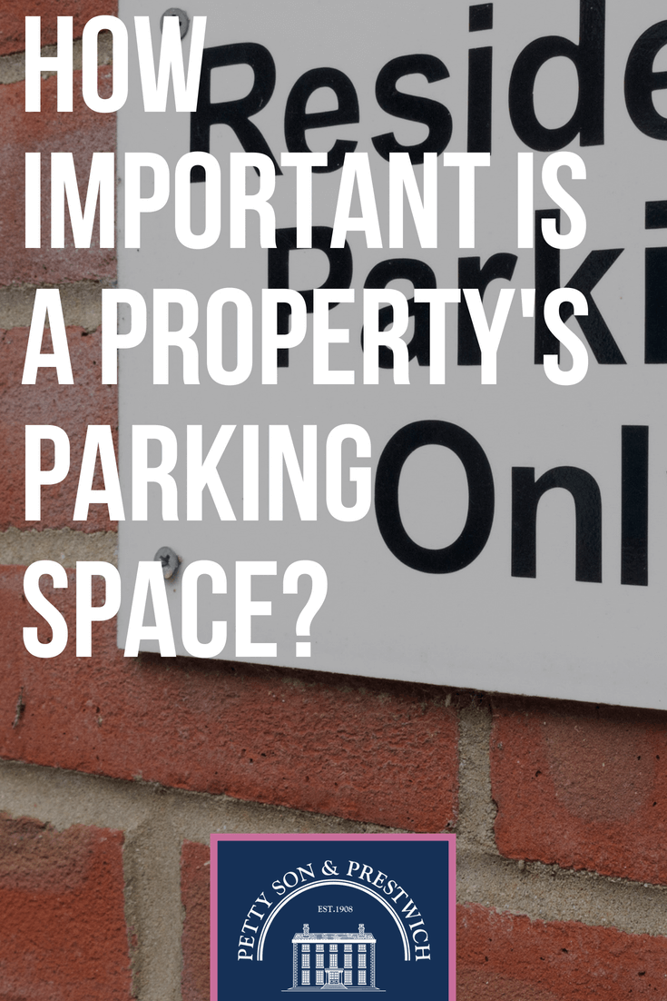 how important is a propertys parking space