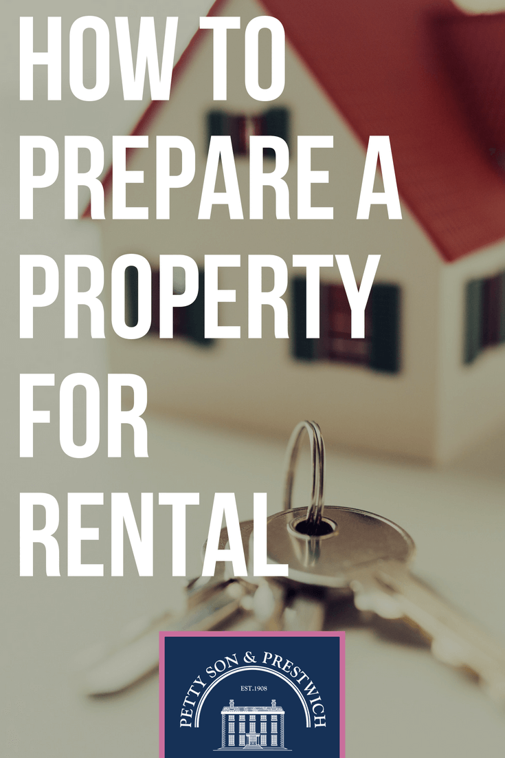 how to prepare a property for rental