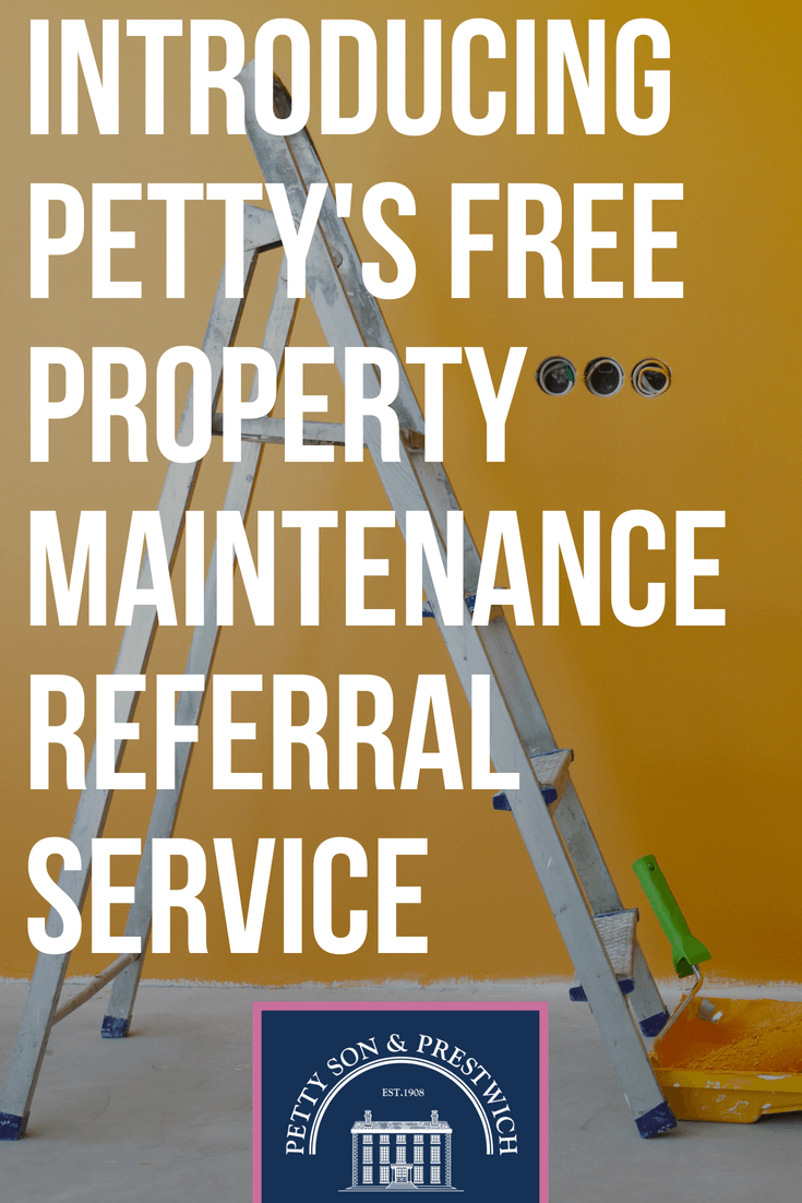introducing pettys free property maintenance referral service