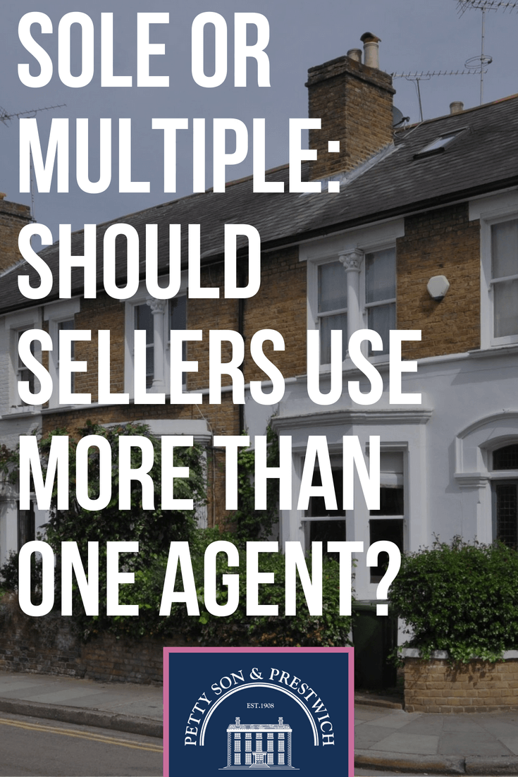 sole or multiple should sellers us more than one agent