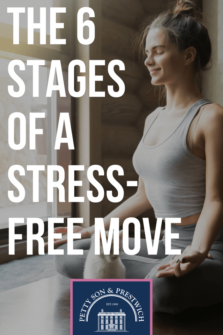 the 6 stages of a stress free move