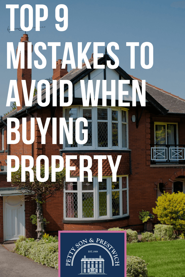top 9 mistakes to avoid when buying property