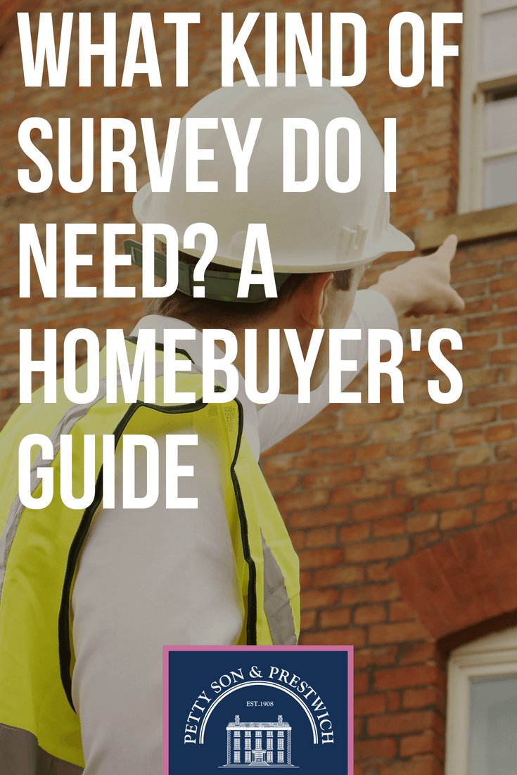 what kind of survey do i need a homebuyers guide