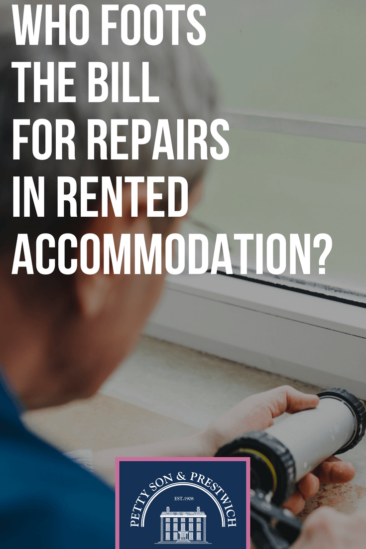 who foots the bill for repairs in rented accomodation