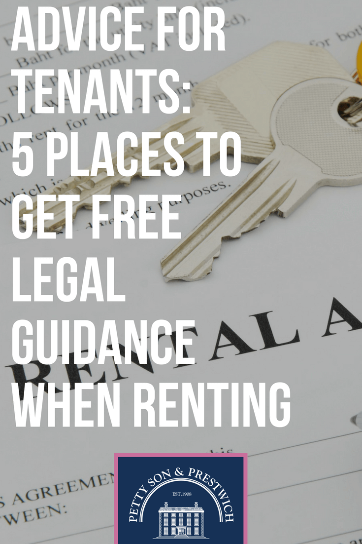 Advice For Tenants 5 Places To Get Free Legal Guidance When Renting