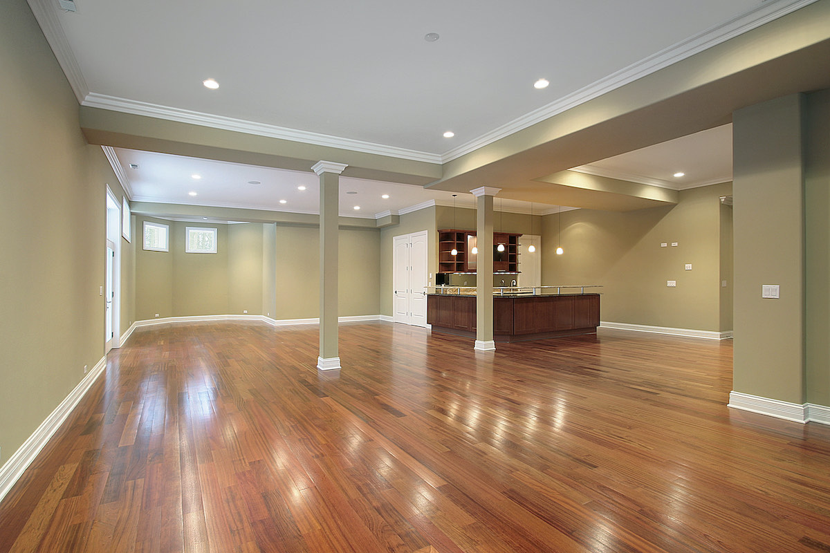 convert basement luxury