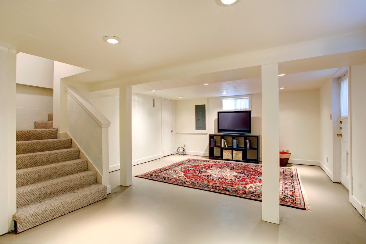 large basement conversion