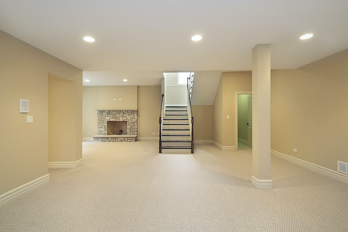 luxury basement conversion