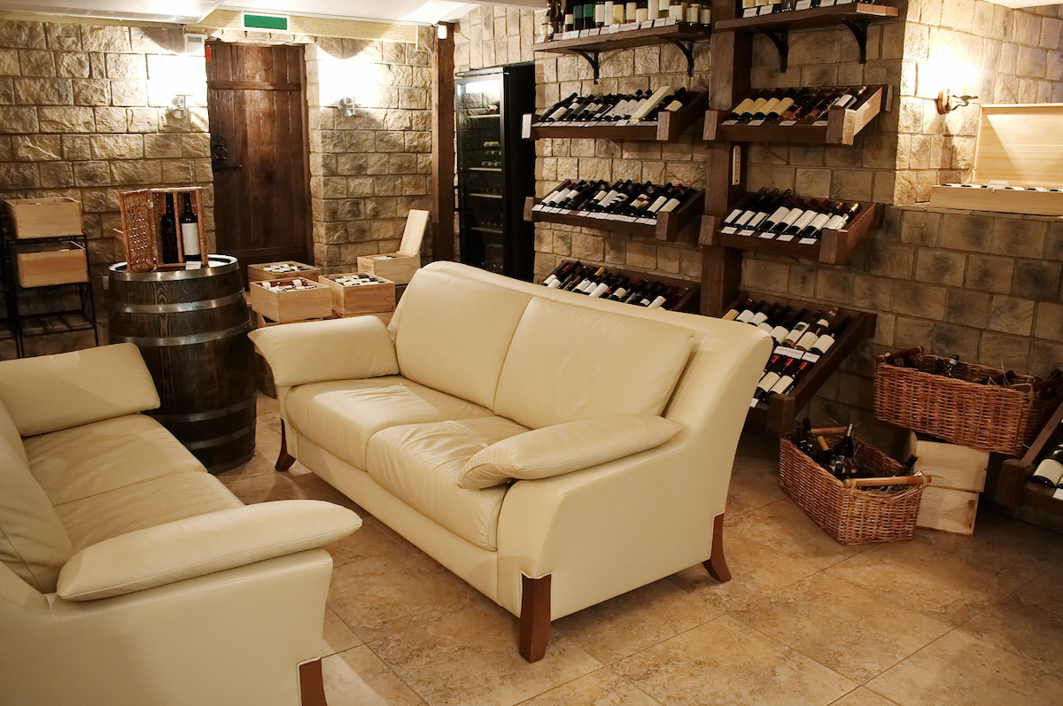 wine cellar conversion