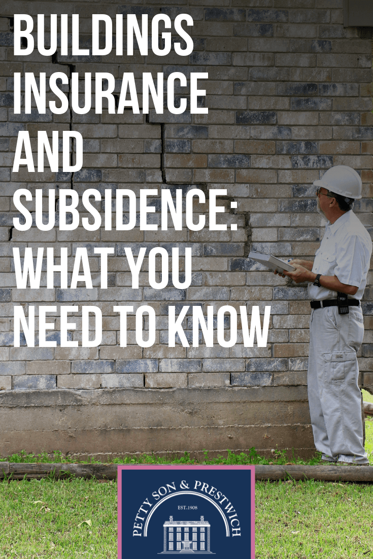 buildings insurance subsidence