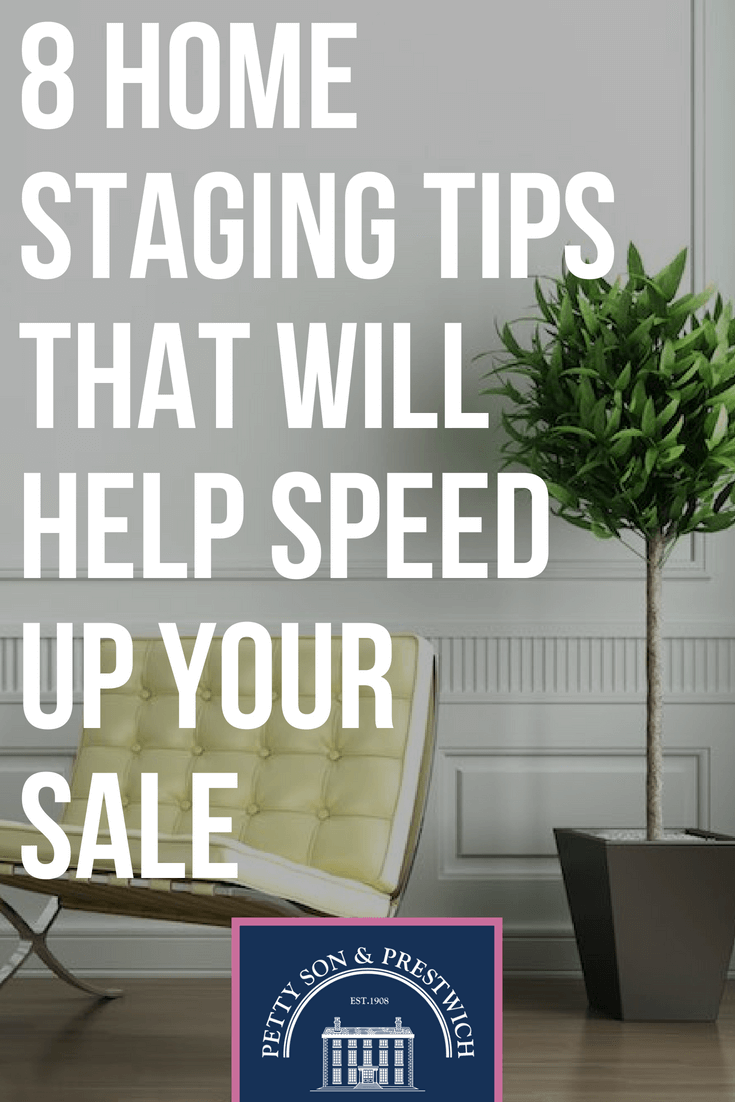 Home staging tips to help speed up your property sale