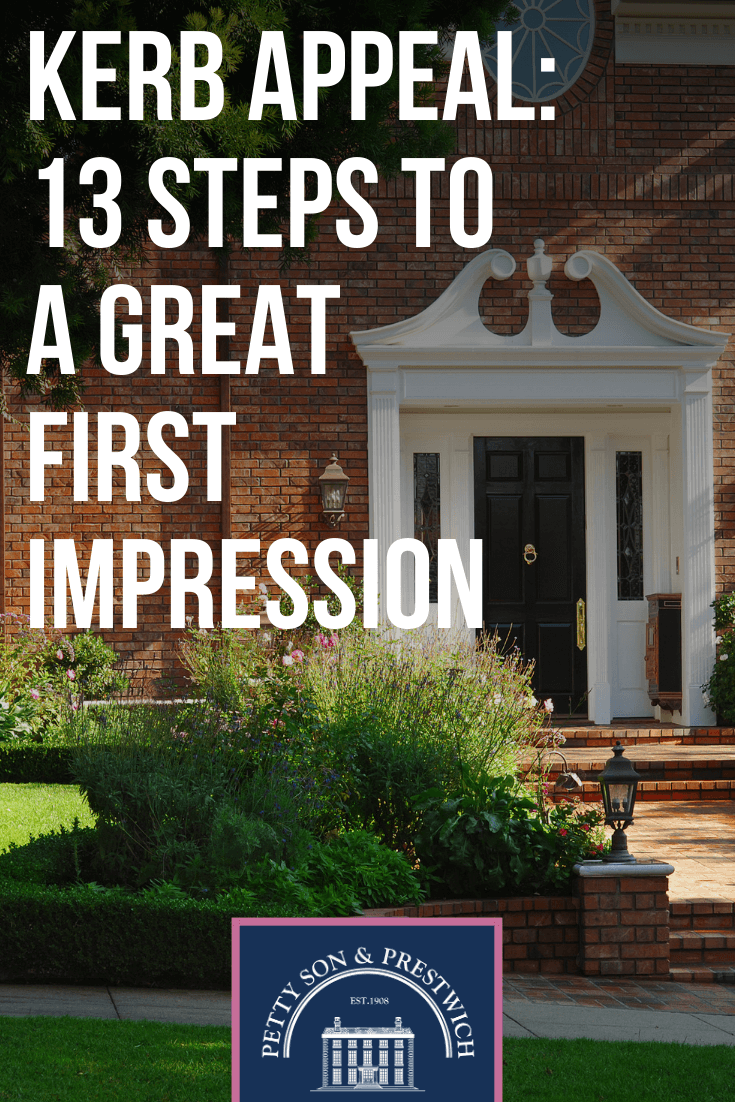 Kerb Appeal 13 Steps To A Great First Impression