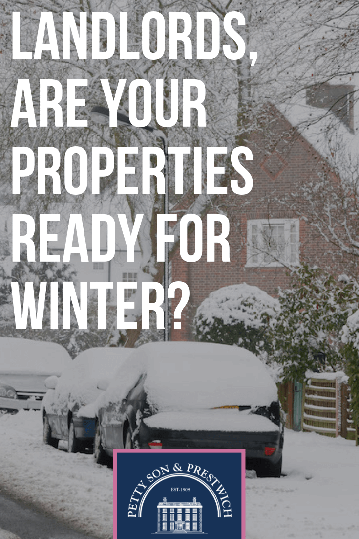 Landlords, are your properties ready for winter? 5 things you need to think about...NOW!