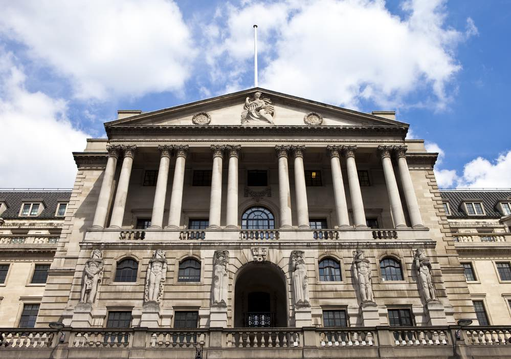 bank of england copy