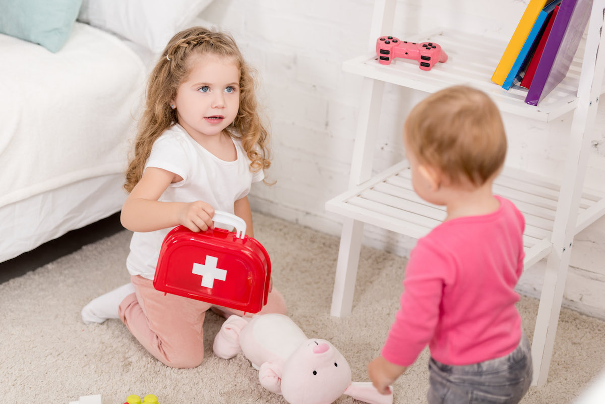 first aid children