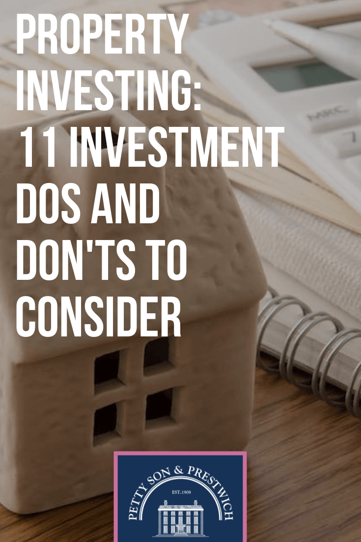dos or donts property investing