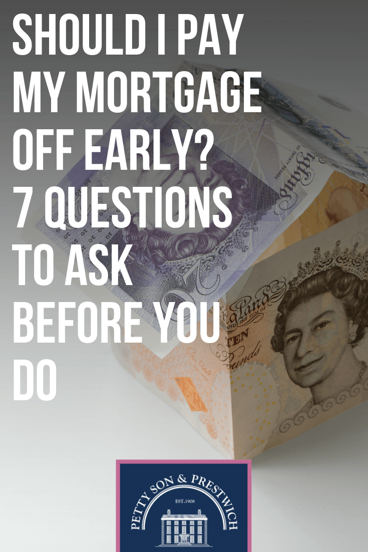 questions pay mortgage early